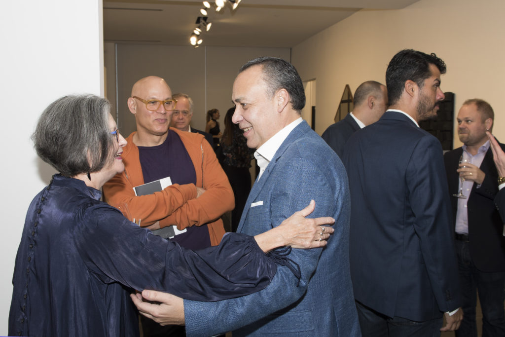 Liana Perez, Craig Robins and Juan Carlos Maldonado
