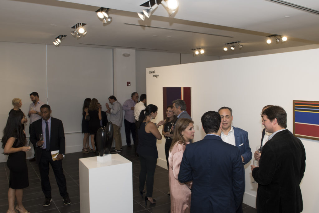 Opening Reception Crowd View