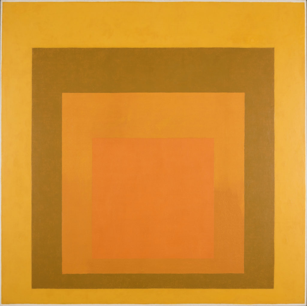 Homage to the Square: Amber Setting, 1959