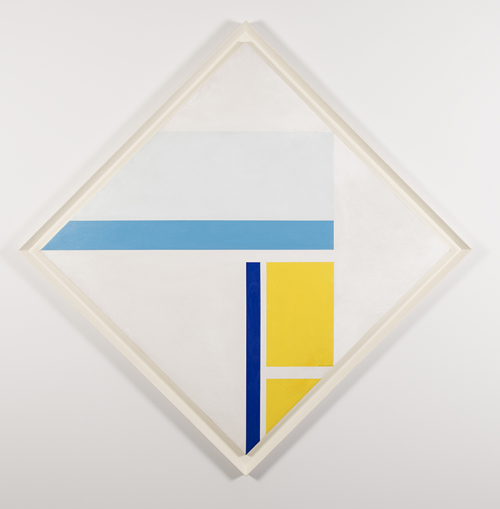 BOLOTOWSKY, Ilya (American born Russia, 1907-1981) Untitled 1969 Oil on canvas 42 x 42 in.