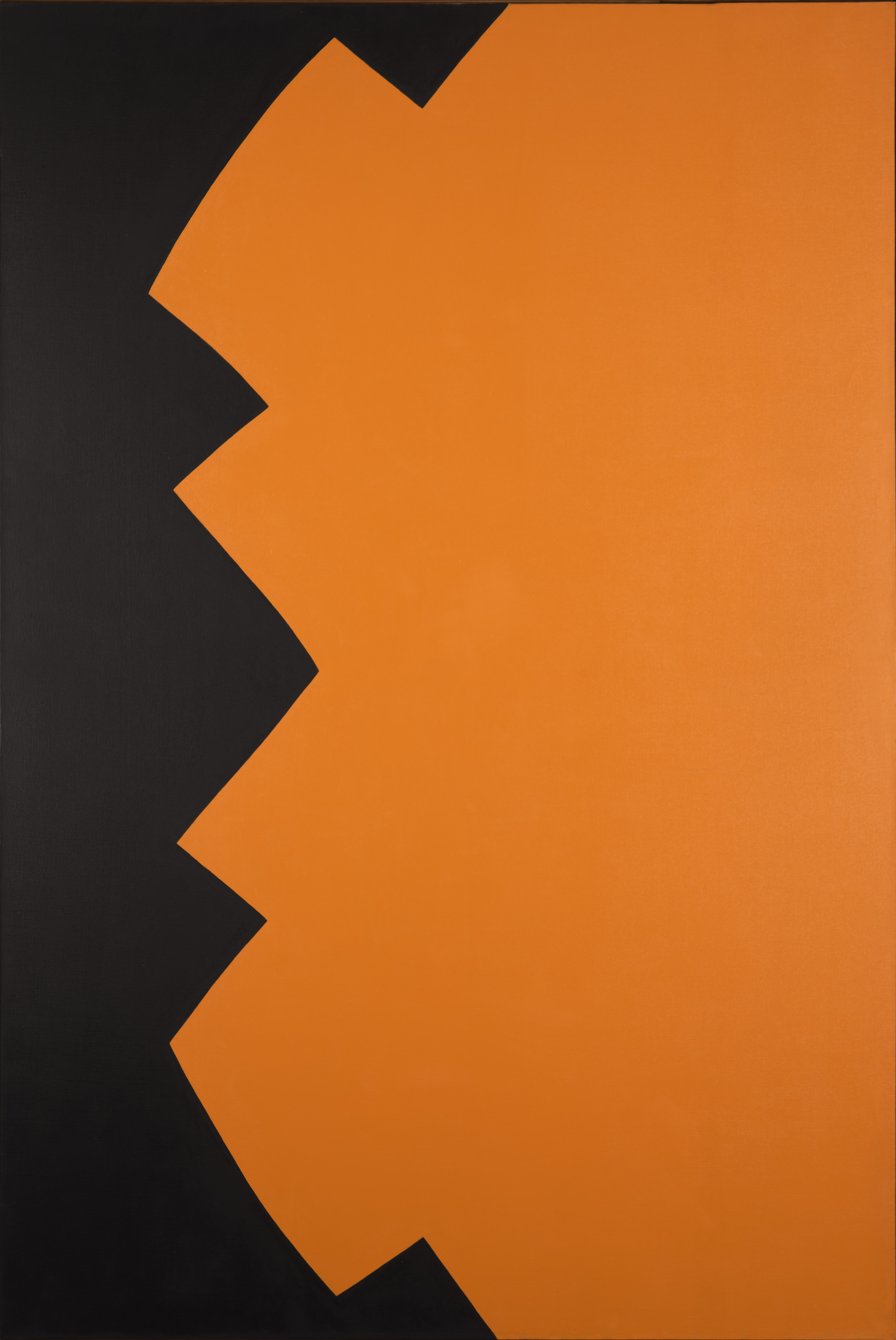 Leon Polk Smith, Correspondence in Black Yellow, 1963