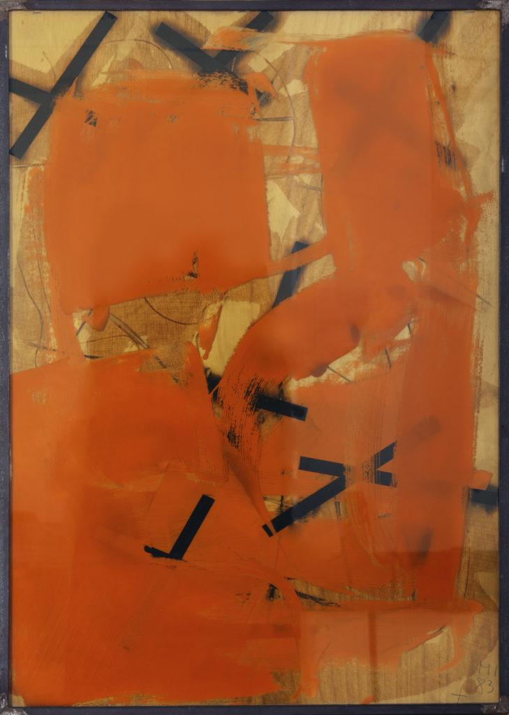 Imi Knoebel, Untitled, 1983